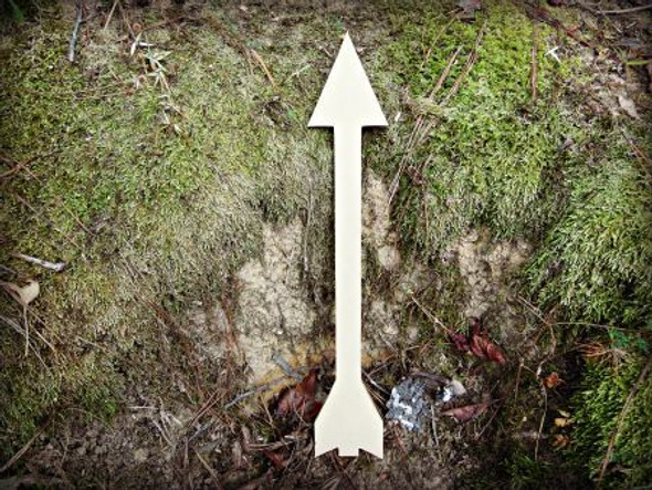 Arrow 4 Unfinished Cutout, Wooden Shape, Paintable Wooden MDF DIY