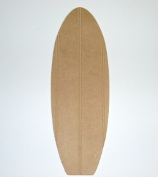 Wooden Surfboard Cutout Beadboard Shape Paintable MDF DIY Craft