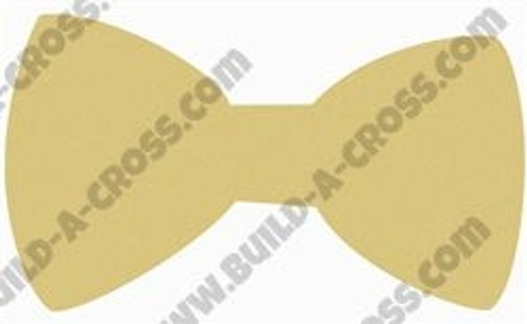 Bow Unfinished Cutout, Wooden Shape, Paintable Wooden MDF DIY Craft