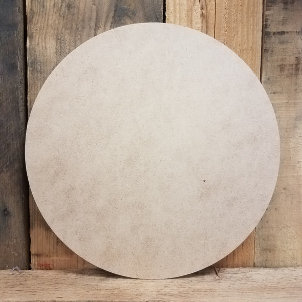 Circle Unfinished MDF Cutout