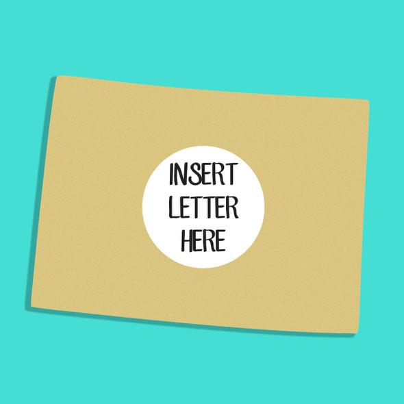 Colorado Frame Letter Insert Wooden Monogram Unfinished DIY Craft