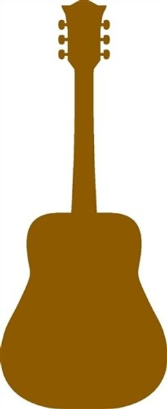 Country Guitar Unfinished Cutout