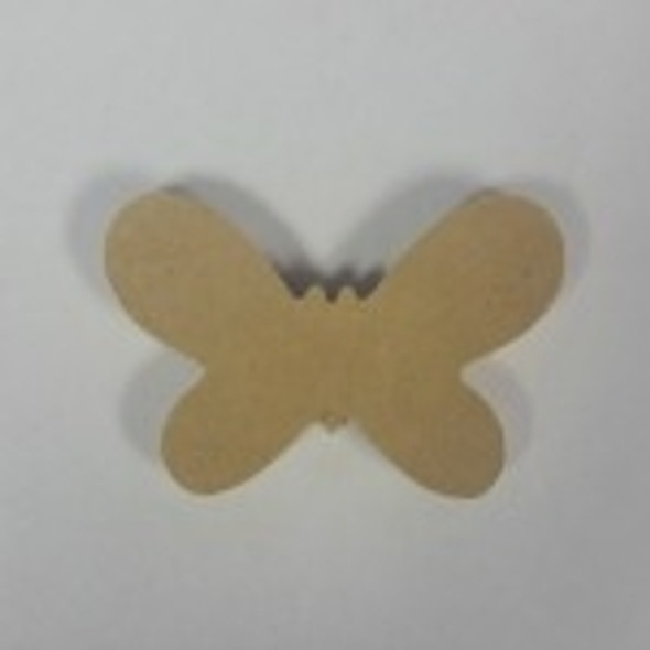 Critter Butterfly Unfinished Cutout, Wooden Shape, MDF DIY Craft