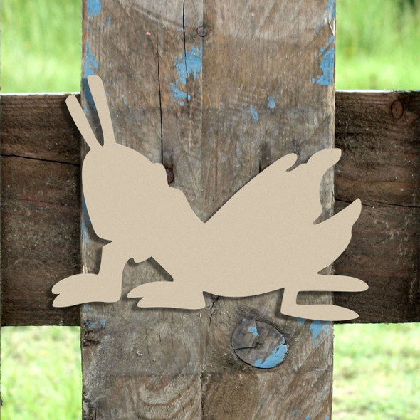 Critter Grasshopper Unfinished Cutout, Wooden Shape, MDF DIY Craft