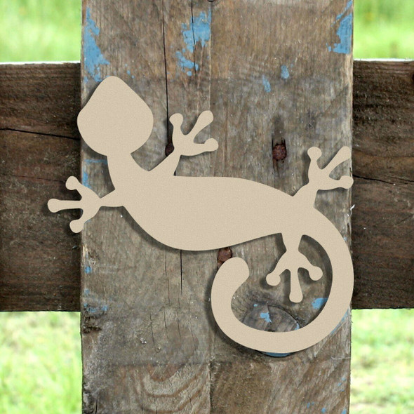 Critter Gecko Unfinished Cutout