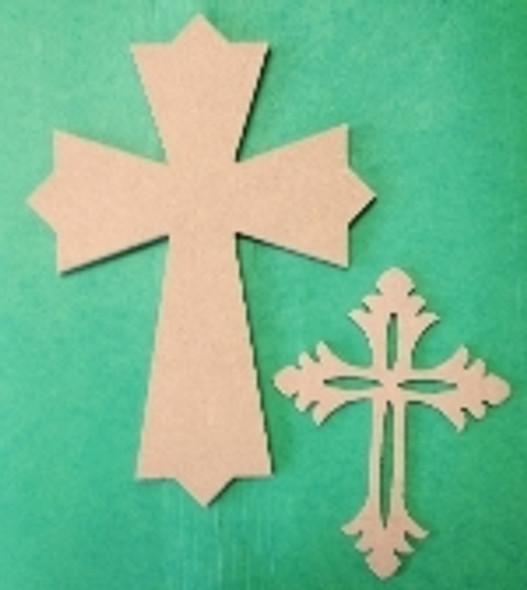 Kids, or Small Cross Kit, Wooden DIY VBS Craft Kit 1