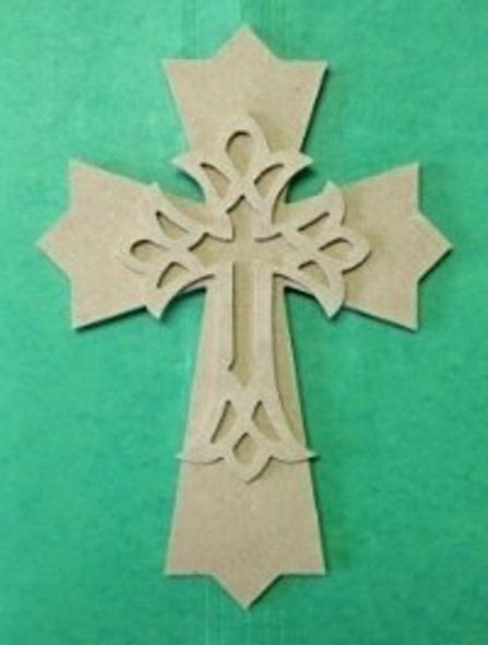 Kids or Small Cross Kit Wooden DIY VBS Craft Kit 3