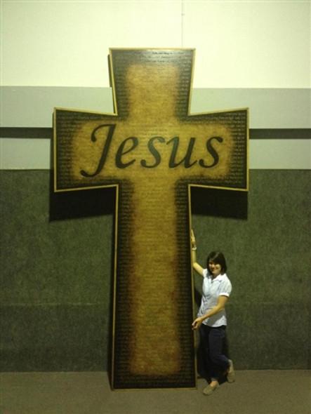 Super Large Crosses Custom Made Plaques