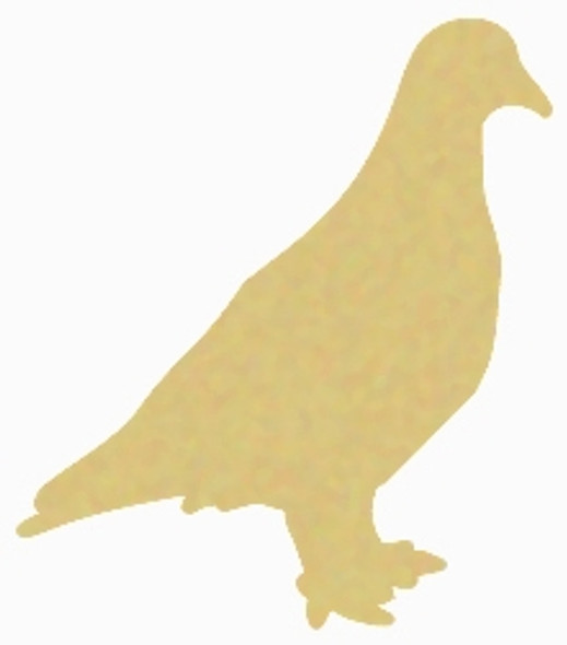 Dove Bird Unfinished Cutout, Wooden Shape, PaintableMDF DIY Craft