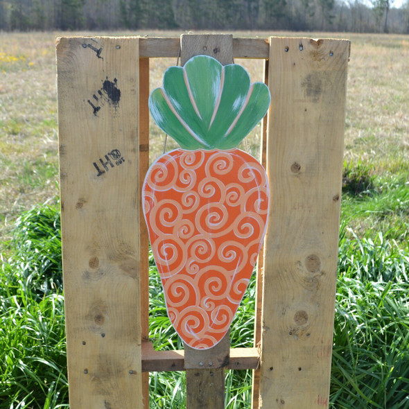 Easter carrot Unfinished Cutout MDF DIY Craft