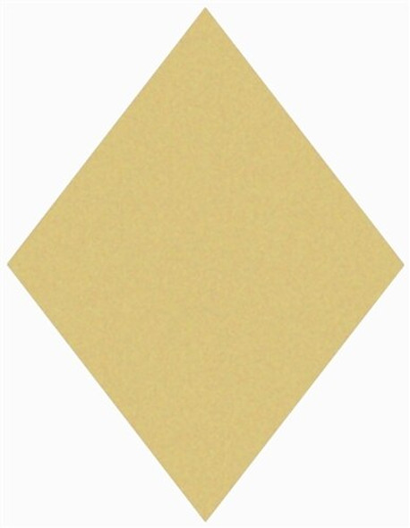 Diamond Unfinished Cutout Paintable MDF DIY Craft