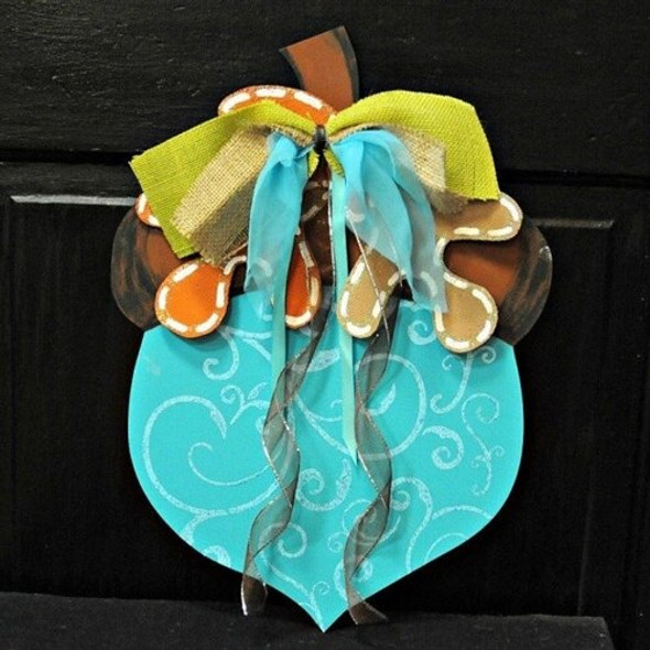 Fall Acorn Unfinished Cutout Paintable Wooden MDF Craft