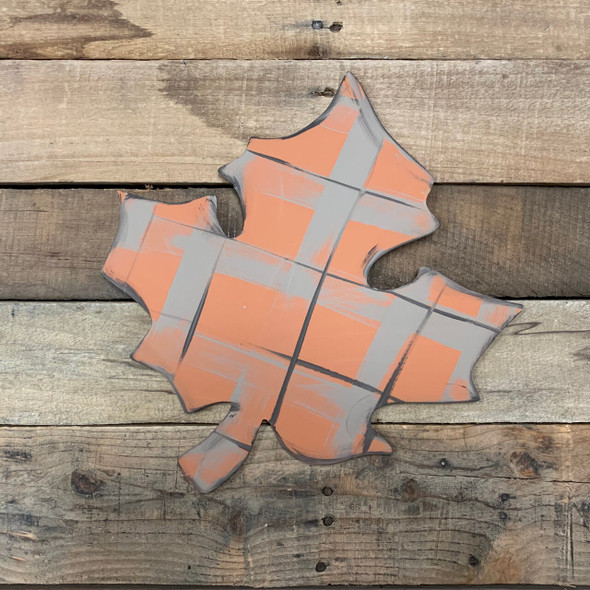 Fall Leaf Unfinished Cutout Paintable Wooden MDF DIY