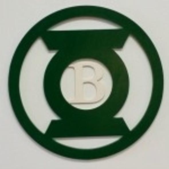 Lantern Frame Letter Insert Wooden Monogram Unfinished DIY Craft