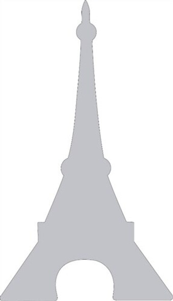 Eiffel Tower Unfinished Cutout