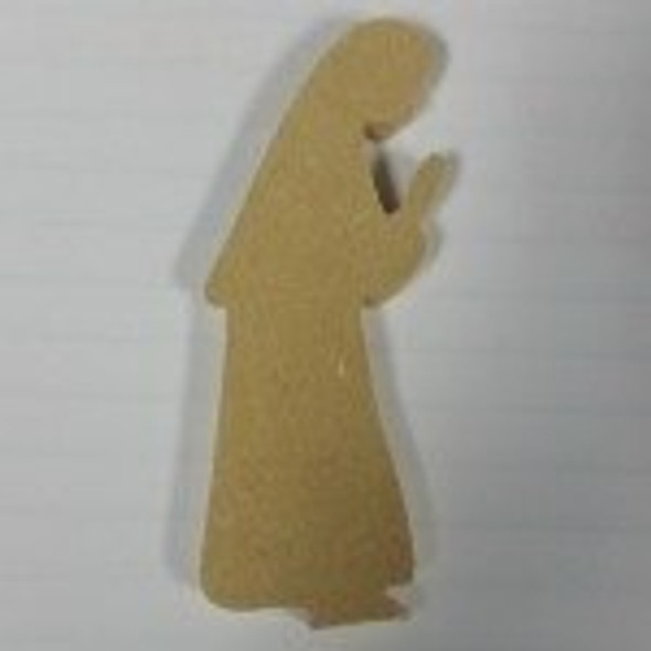 Nativity Mary Unfinished Cutout