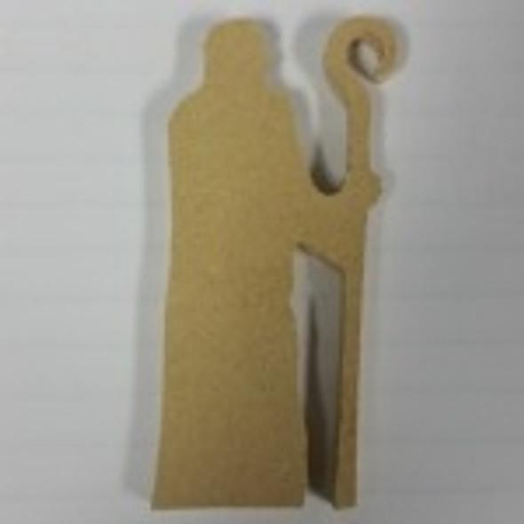 Nativity Wise Man 3 Unfinished Cutout, Wooden Shape, MDF DIY Craft