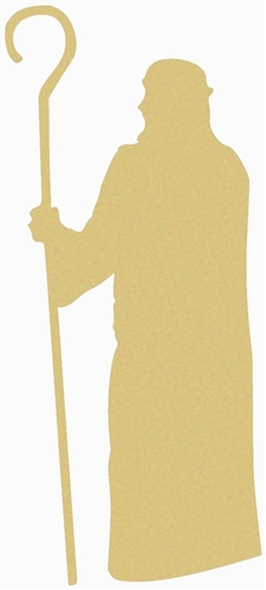 Noah Unfinished Cutout, Wooden Shape, Paintable Wooden MDF