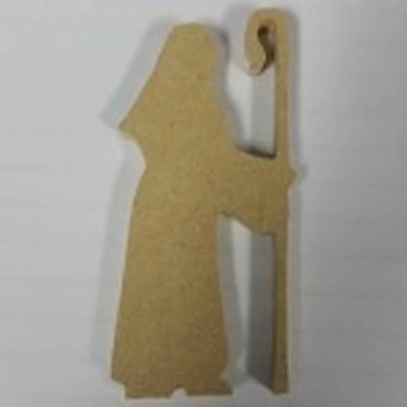 Nativity Wise Man 2 Unfinished Cutout, Wooden Shape, MDF DIY Craft