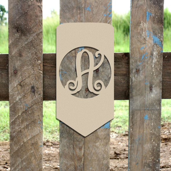 Pencil Frame Letter Monogram Wooden Unfinished DIY Craft
