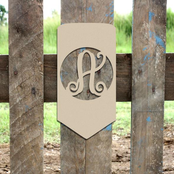 Pencil Frame Letter Monogram Wooden Unfinished DIY Back to School Craft