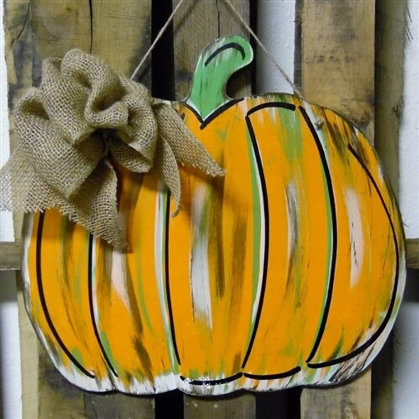 Pumpkin Unfinished Cutout Paintable Wooden MDF