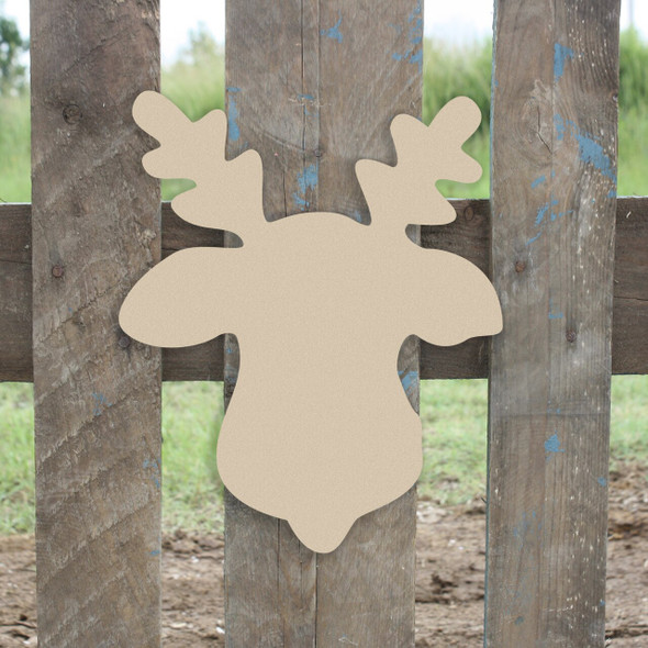 Reindeer Unfinished Cutout Paintable Wooden MDF