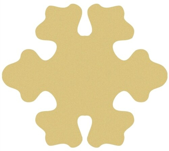 Snowflake Cutouts Unfinished Paintable Wooden