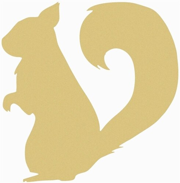 Squirrel Unfinished Cutout
