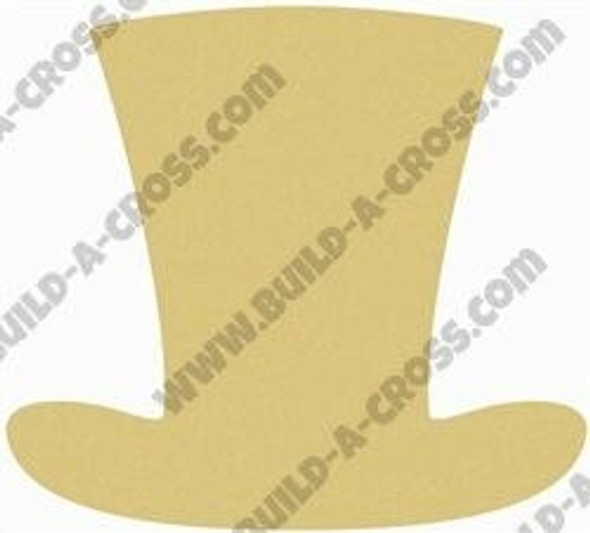 Top Hat Unfinished Cutout build-a-cross