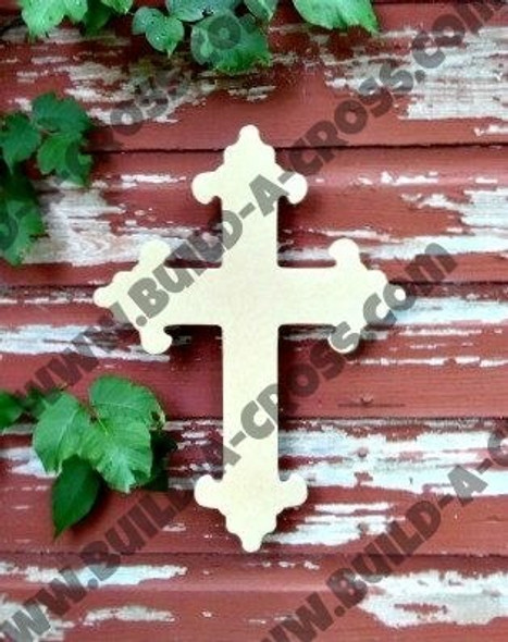 Cross 17 Unfinished Wooden Paintable build-a-cross