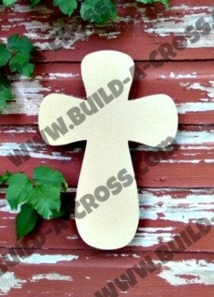 Cross 26 Unfinished Wooden Paintable Wall Hanging build-a-cross