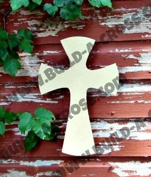 Cross 27 Unfinished Wooden Paintable build-a-cross