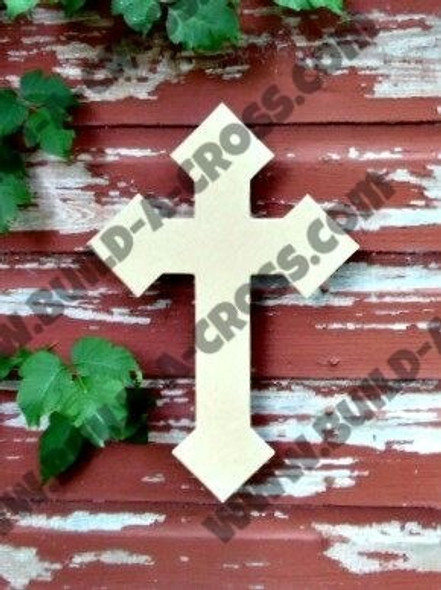 UNFINISHED PAINTABLE WALL HANGING STACKABLE CROSS build-a-cross