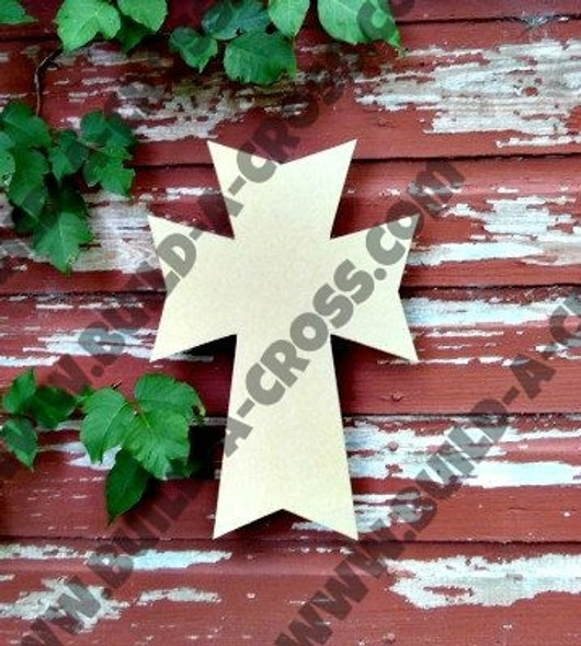 UNFINISHED WOODEN CROSS PAINTABLE WALL HANGING STACKABLE CROSS(46)