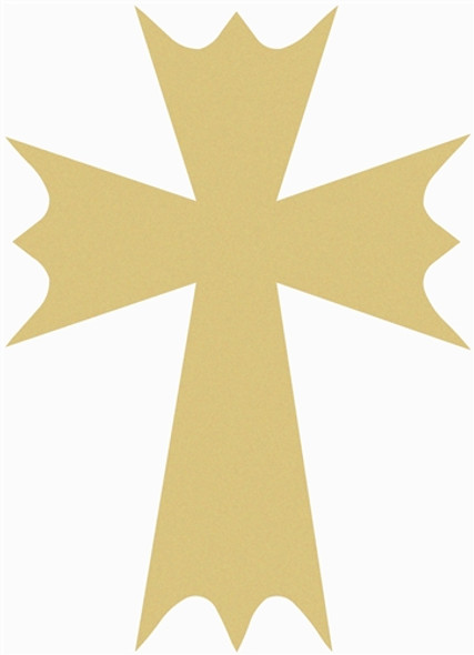 UNFINISHED WOODEN CROSS Paint-able WALL HANGING STACKABLE CROSS(49)