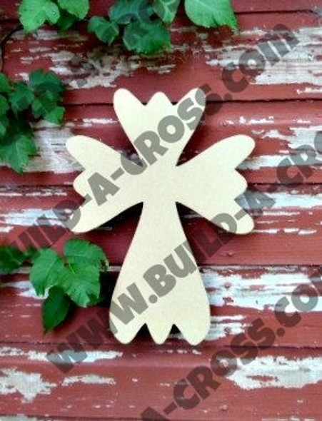 UNFINISHED WOODEN CROSS PAINTABLE WALL HANGING STACKABLE CROSS(51)