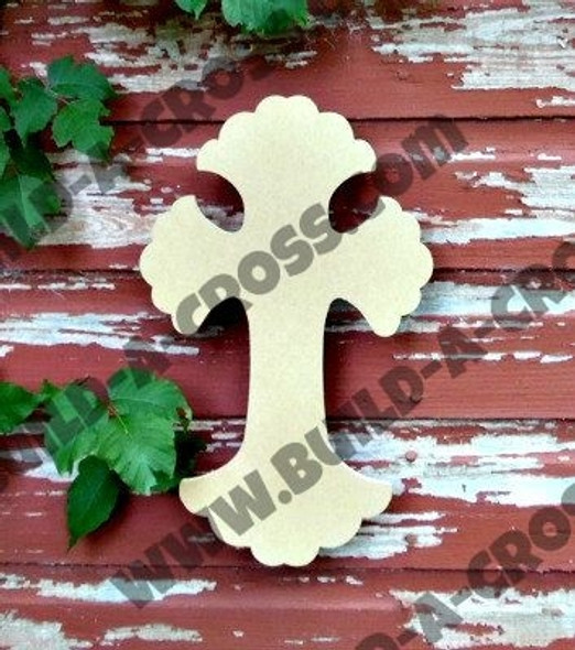 Unfinished Wooden Cross Paintable Wall Hanging Stackable Cross 66