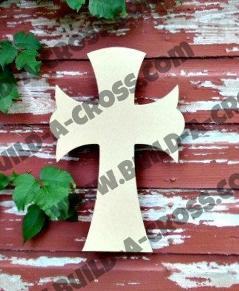 Unfinished Wooden Cross Paintable Wall Hanging Stackable Cross 67