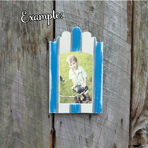 Wooden Unfinished Picture Frame Paintable Wood Frames Craft