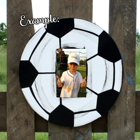 Unfinished Picture Frame Wooden Paintable Wood Circle DIY