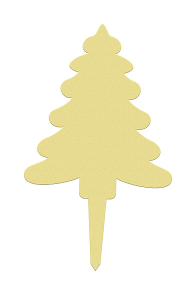 Unfinished outdoor DIY wooden yard art pattern christmas tree sign