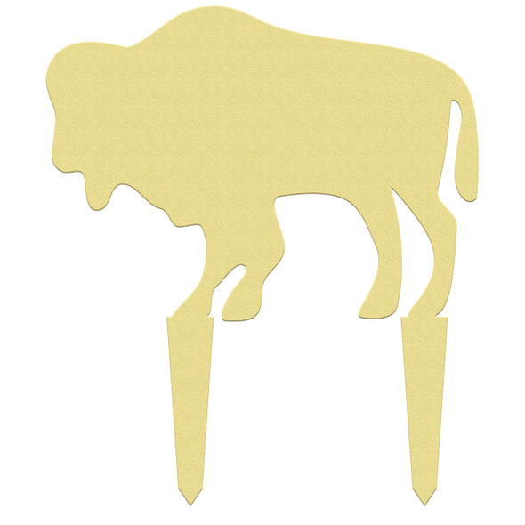 Outdoor yard signs wooden buffalo paintable DIY