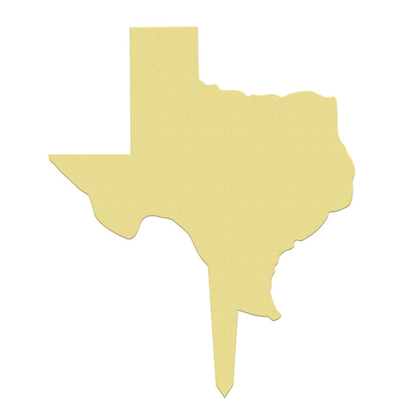 Outdoor state yard signs wooden Texas paintable DIY