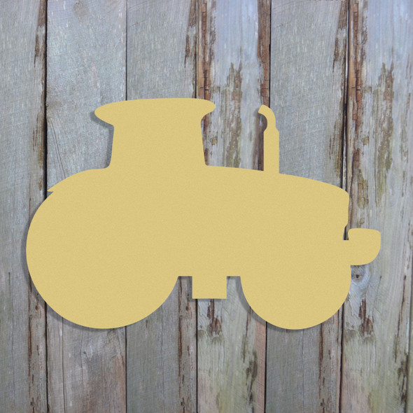 Tractor2 Unfinished Cutout, Wooden Shape, Paintable Wooden MDF