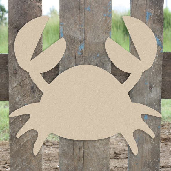 Nautical Decor Mr Crabs Unfinished Cutout