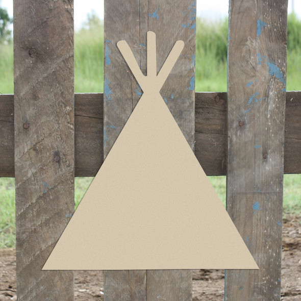 Teepee2 Unfinished Cutout