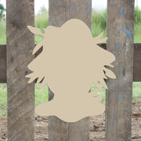 Scarecrow Head Unfinished Cutout
