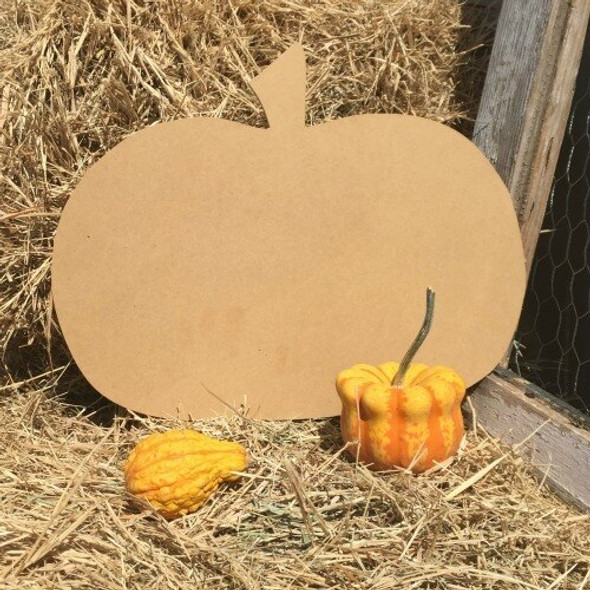 Wide Pumpkin Cutout