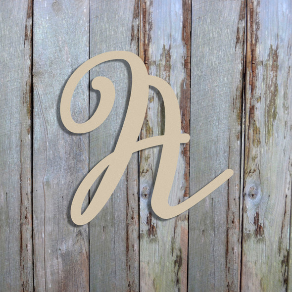 Unfinished Wood Alphabet Letter Wall Decor Miracella Unpainted Letter